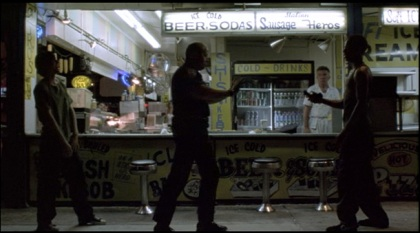 Monkey in the middle: Requiem for a Dream in the eighth minute (Video still: Darren Aronofsky)